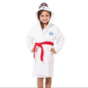Frosty the Snowman Hooded Robe Kids 4/5